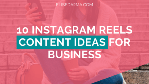 instagram reels content ideas for business